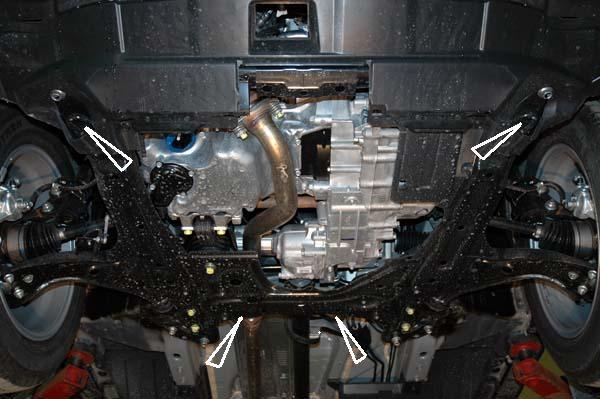 motor fără scut Honda - CRV