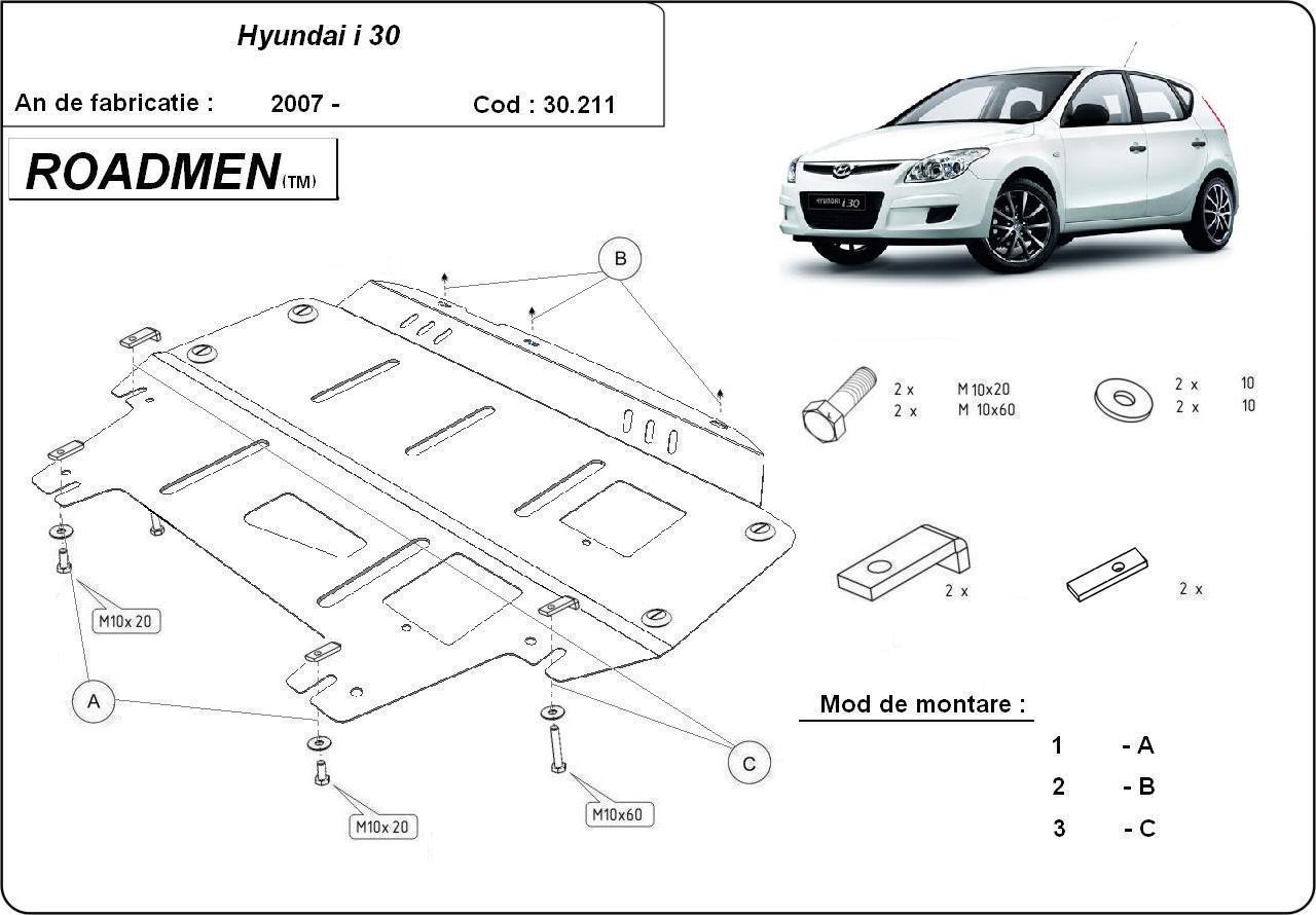 motor cu scut Hyundai - I 30