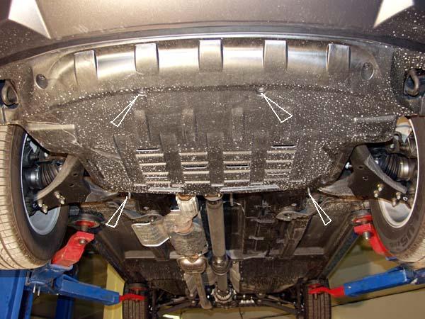 motor fără scut Kia - Sportage