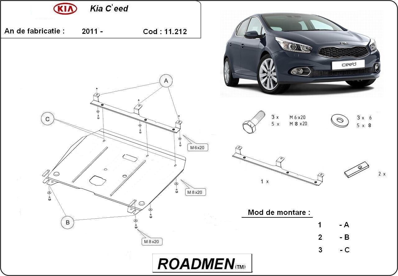 motor cu scut Kia - C eed new