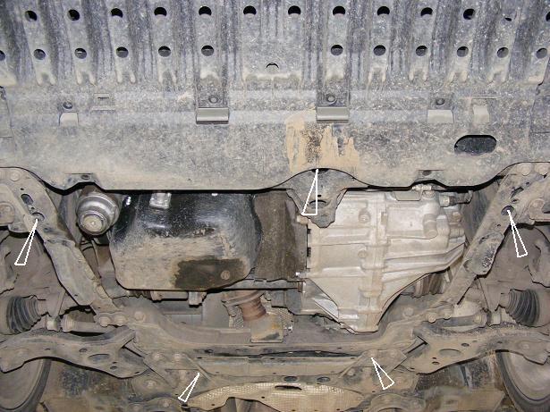 motor fără scut Toyota - Avensis II