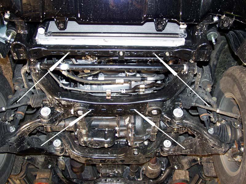 motor fără scut Toyota - Land Cruizer