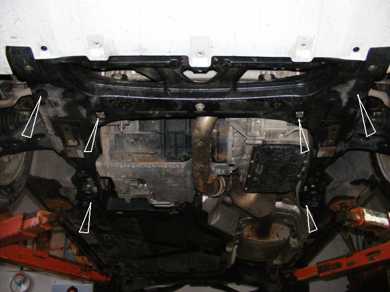 motor fără scut Mercedes - A classe 2