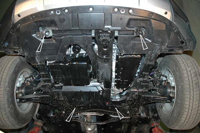 motor fără scut Mitsubishi - Outlander