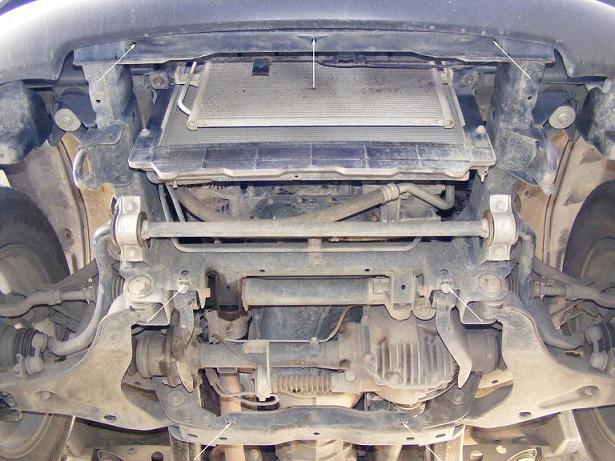 motor fără scut Mitsubishi - L200