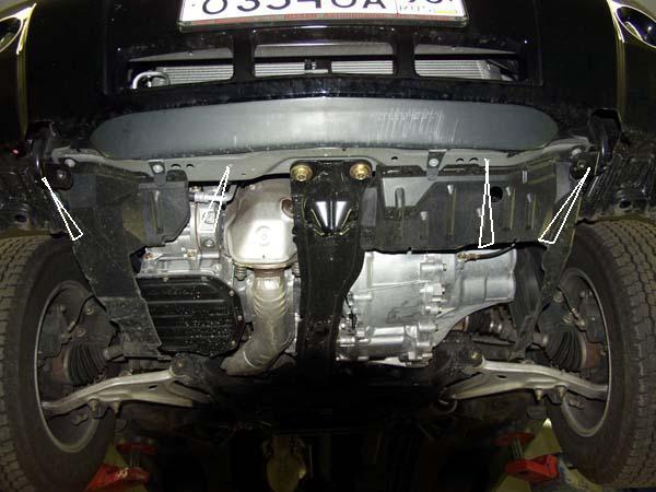 motor fără scut Nissan - X-Trail