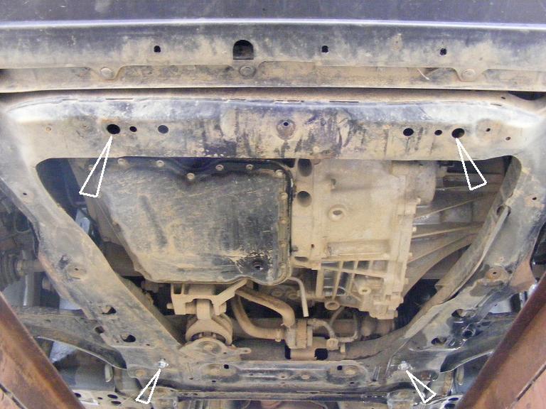 motor fără scut Nissan - X-Trail II