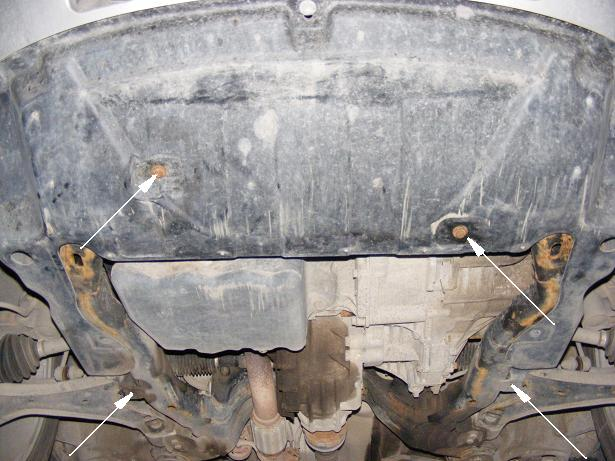 motor fără scut Opel - Antara