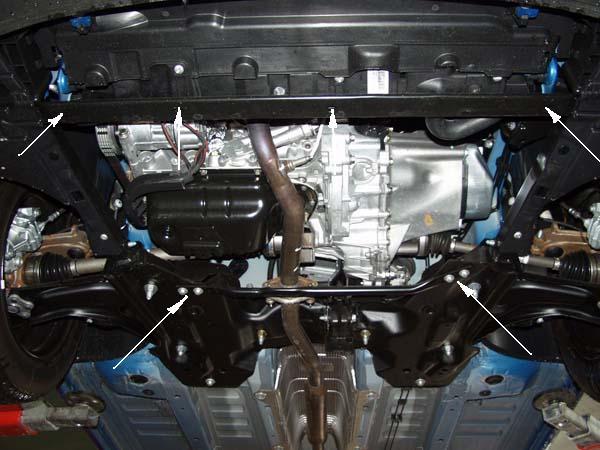 motor fără scut Peugeot - 206 plus