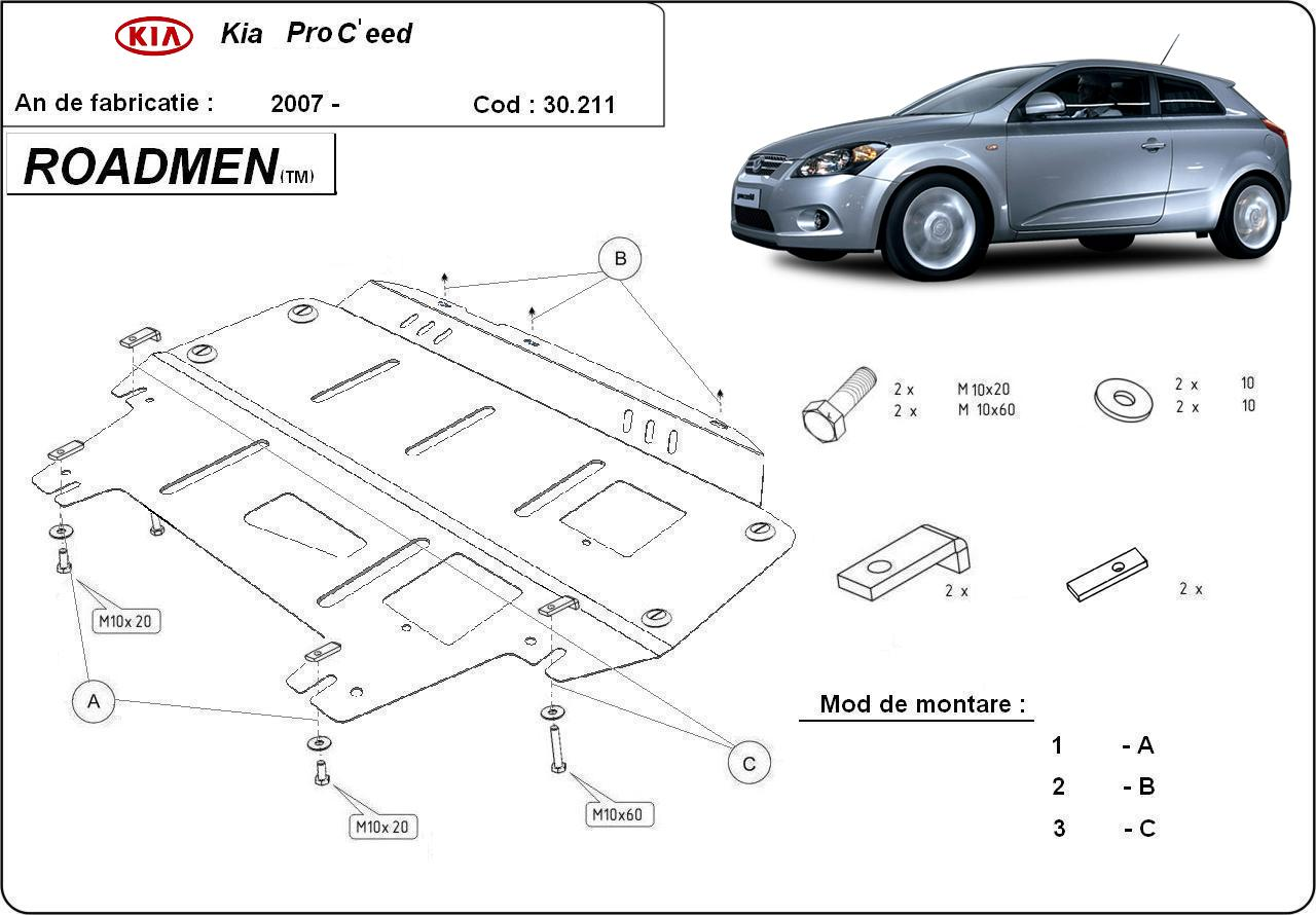 motor cu scut Kia - Pro Ceed