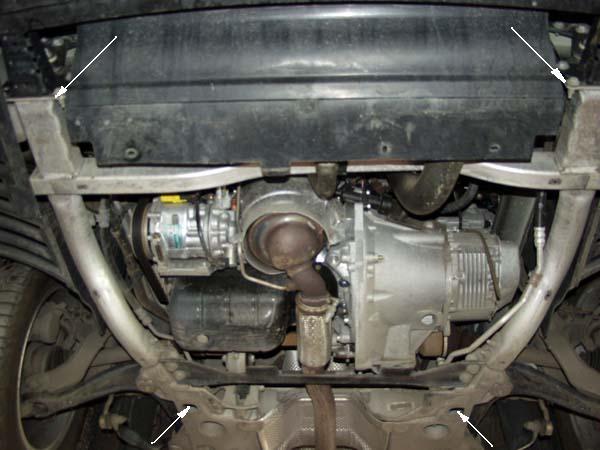 motor fără scut Peugeot - 407