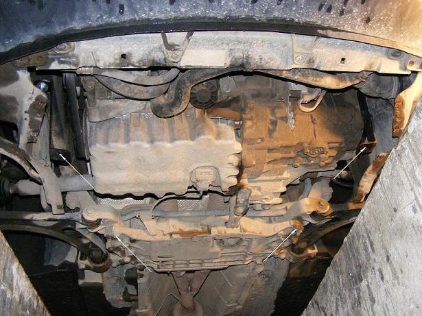 motor fără scut Skoda - Roomster