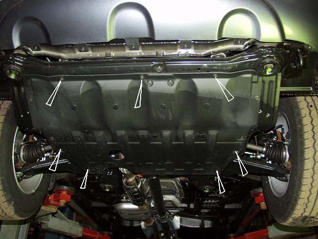 motor fără scut Hyundai - Santa Fe I