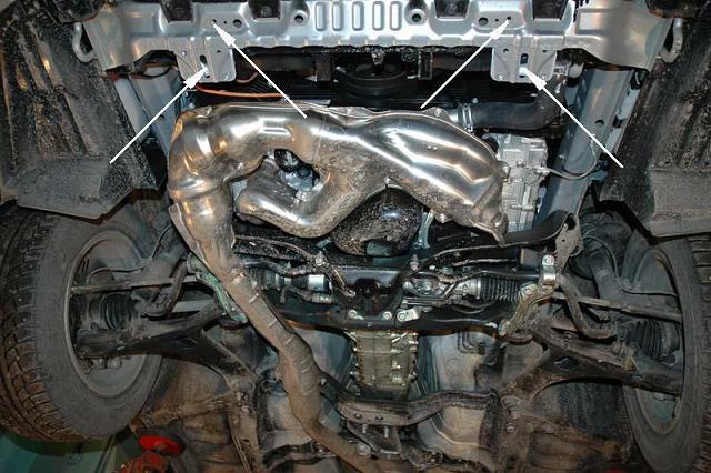 motor fără scut Subaru - Forester