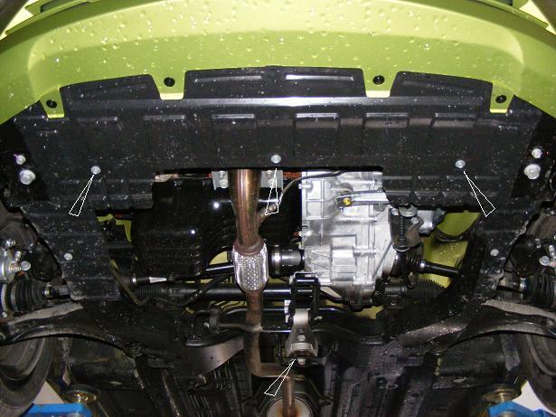 motor fără scut Chevrolet - Spark II