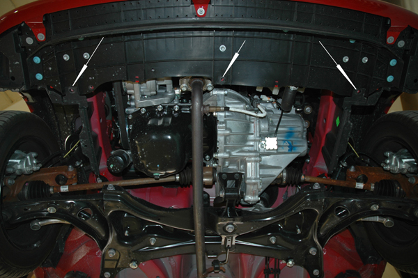 motor fără scut Toyota - Aygo
