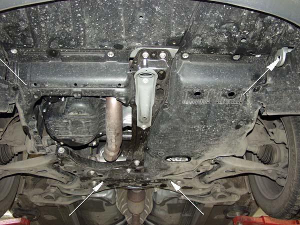motor fără scut Toyota - Avensis