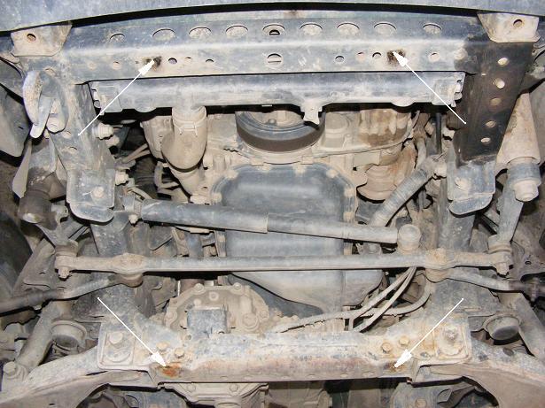 motor fără scut Toyota - Hilux
