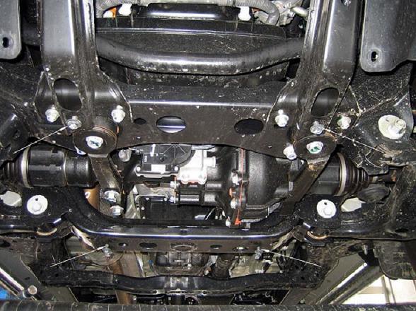 motor fără scut Toyota - Hilux II-difi