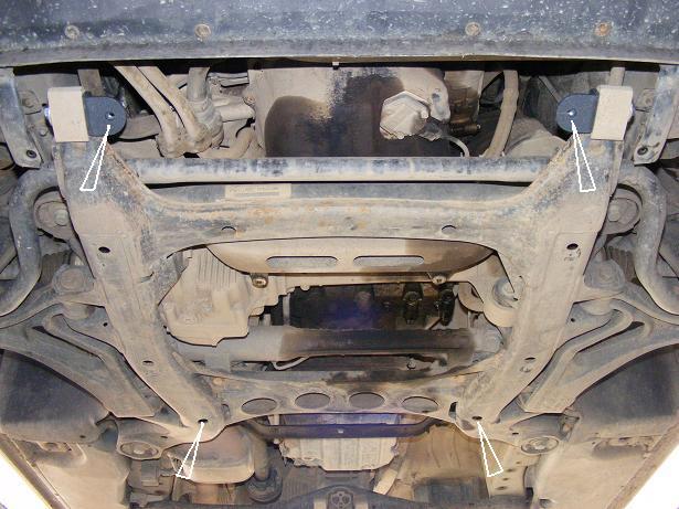 motor fără scut Volkswagen - Touareg