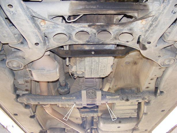 motor fără scut Volkswagen - Touareg cutie+diferential