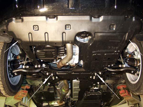 motor fără scut Toyota - Rav 4