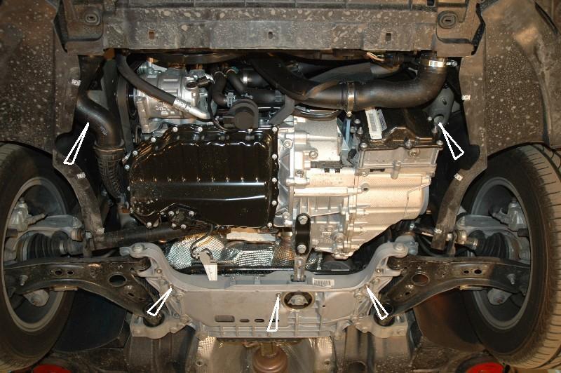 motor fără scut Volkswagen - Passat new
