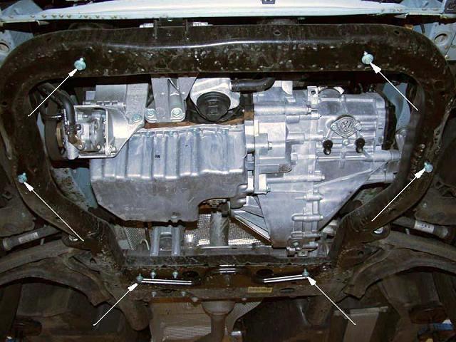 motor fără scut Volkswagen - T5