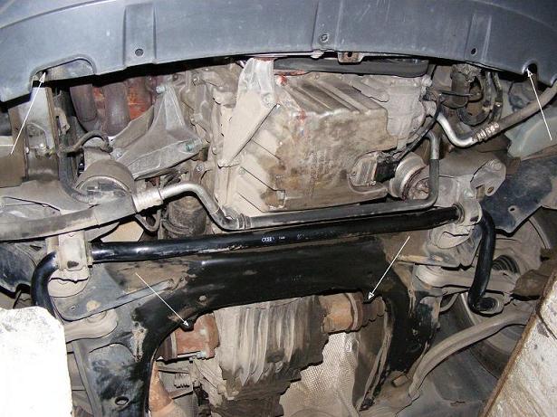 motor fără scut Volkswagen - Passat b5