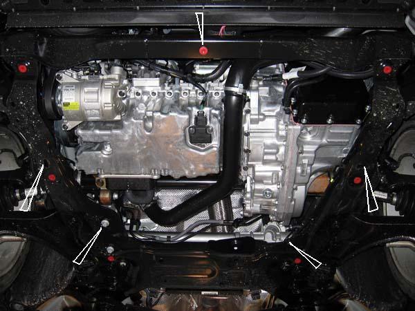 motor fără scut Volvo - S80